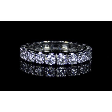 1.90ct Eternity Ring, SI Clarity, 14K Gold