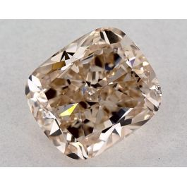 2.41 carat, Fancy Pink-Brown, Cushion, VS2 Clarity GIA