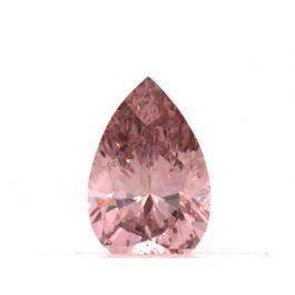 0.18 carat, Fancy Intense Pink, SI1 Clarity, Pear shape, GIA