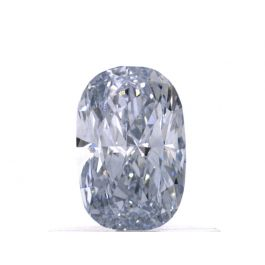 0.55 carat, Fancy Blue, Cushion, IF Clarity, GIA