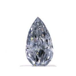 0.78 carat, Fancy Blue, Pear shape, VS2 Clarity, GIA