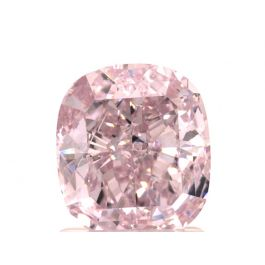 1.72 carat, Fancy Purplish Pink, Cushion, SI2 Clarity, GIA