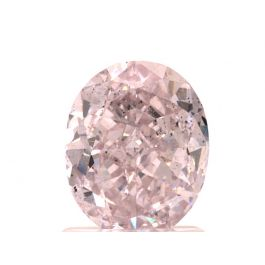 1.58 carat, Fancy Purple-Pink, Oval, SI2 Clarity, GIA