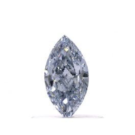 0.52 carat, Fancy Intense Blue, Marquise, I1 Clarity, GIA