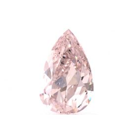 1.00 carat, Fancy Light Pink, Pear shape, SI2 Clarity, GIA