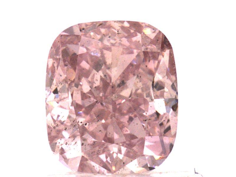 1.13 carat, Fancy Purplish Pink, Cushion, SI1 Clarity, GIA