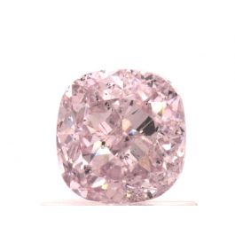 1.01 carat, Fancy Light Purplish Pink, Cushion, SI2 Clarity, GIA