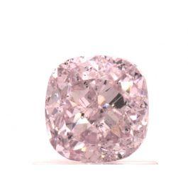 1.01 carat, Fancy Light Purplish Pink, Cushion, SI2 Clarity, GIA