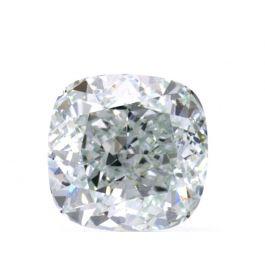0.70 carat, Fancy Light Bluish Green, Cushion, VS1 Clarity GIA