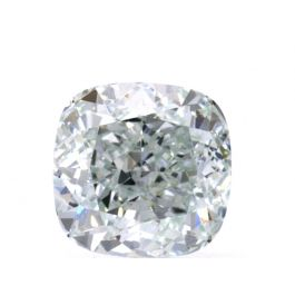 0.70 carat, Fancy Light Bluish Green, Cushion, VS1 Clarity GIA