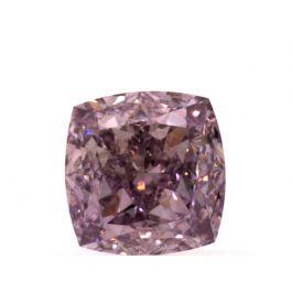 0.56 carat, Fancy Purple Pink, Cushion, VS2 Clarity, GIA