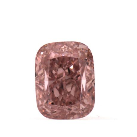 0.51 carat, Fancy Intense Pink, Cushion, VS1 Clarity, GIA