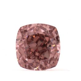 0.70 carat, Fancy Intense Pink, Cushion, VS1 Clarity, GIA