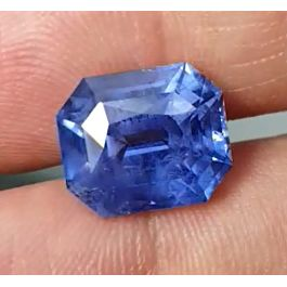 14.22ct. Natural Blue Sapphire, Cushion Shape, None Heated, GRS certified