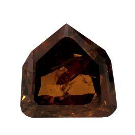 2.01 carat. Brown-Orange, Shield Mixed cut, GIA