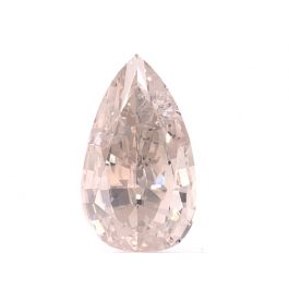 1.15ct Natural Light Pinkish Brown, Pear, GIA