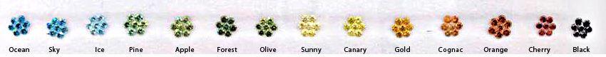 Color Enhanced Melee Diamonds, VS Clarity
