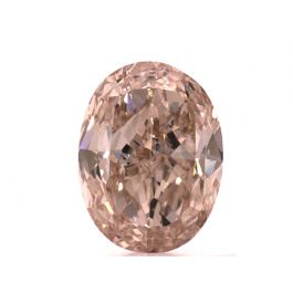 0.82 carat, Natural Fancy Brown-Pink, GIA