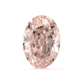 0.70 carat, Natural Fancy Light Pink-Brown, GIA