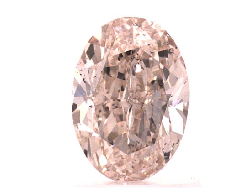 0.70 carat, Natural Fancy Light Pink-Brown, GIA