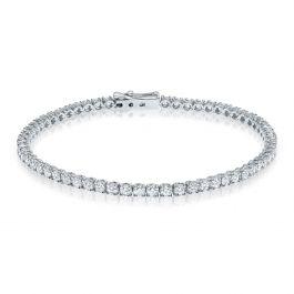 3.30 carat, Tennis Bracelet, G-H Color, 7.00gr 14K
