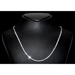 4.00 carat Tennis Necklace, G-H Color, 14K