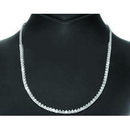 5.50 carat Tennis Necklace, G-H Color, 14K