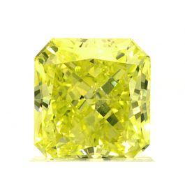 1.26 carat, Fancy Intense Green Yellow, VS1, GIA