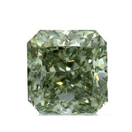 1.01 carat, Fancy Grayish Yellowish Green, SI2, GIA