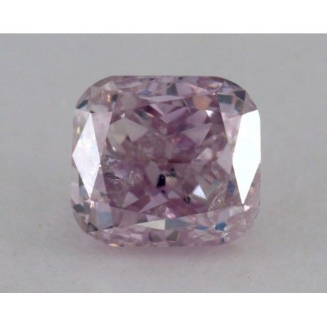 0.36 Carat, Natural Fancy Purple Pink, Cushion Shape, I1 Clarity, GIA