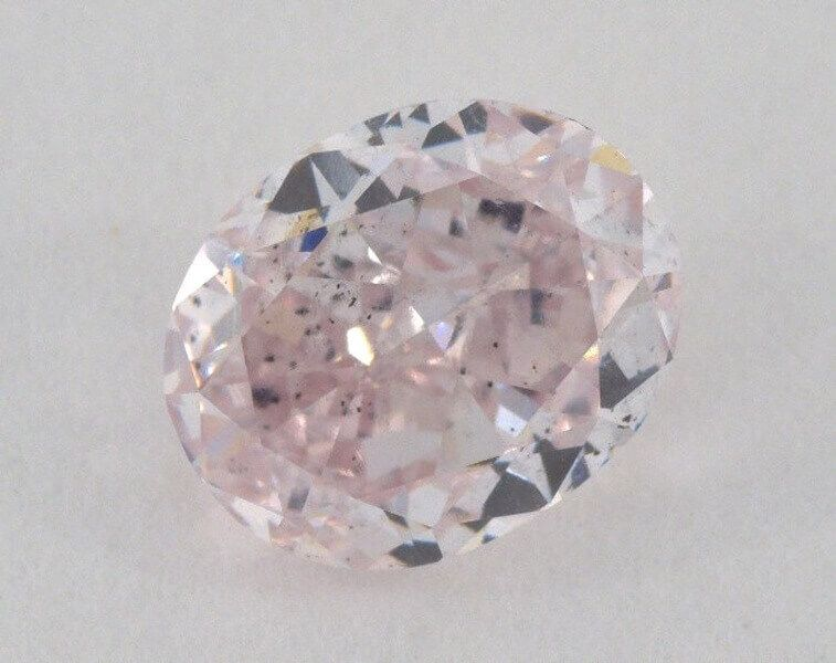 1.58 carat, Natural Fancy Purple-Pink, Oval Shape, SI2 Clarity, GIA