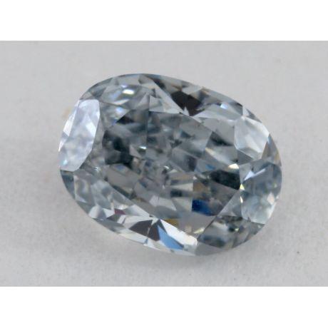 Grayish Blue carat, natural fancy grayish blue, si2 clarity, gia