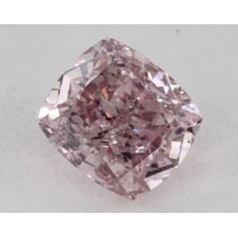 0.51 Carat, Natural Fancy Intense Purplish Pink, Radiant Shape, I1 Clarity, GIA