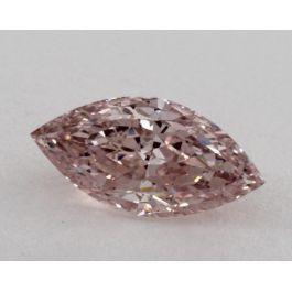 1.02 Carat, Natural Fancy Intense Pink, Marquise, SI1 Clarity, GIA