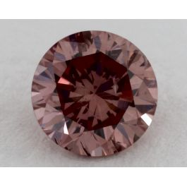0.57 Carat, Argyle Natural Fancy Deep Orangy Pink, Round Shape, I1 Clarity, GIA