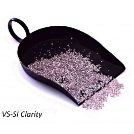 Fancy Light Pink Diamond Melee, VS-SI Clarity