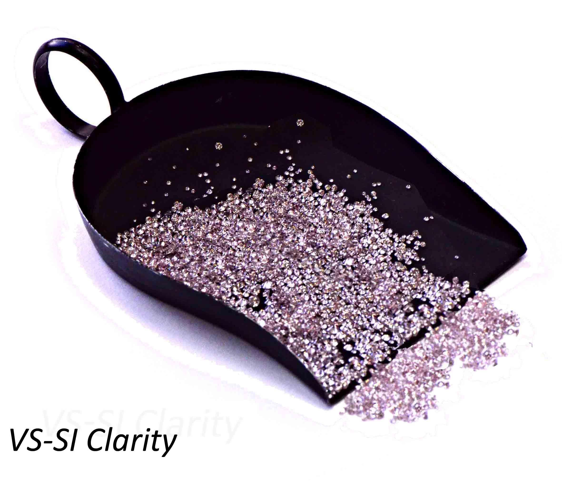 Fancy Pink Diamond Melee, VS-SI Clarity