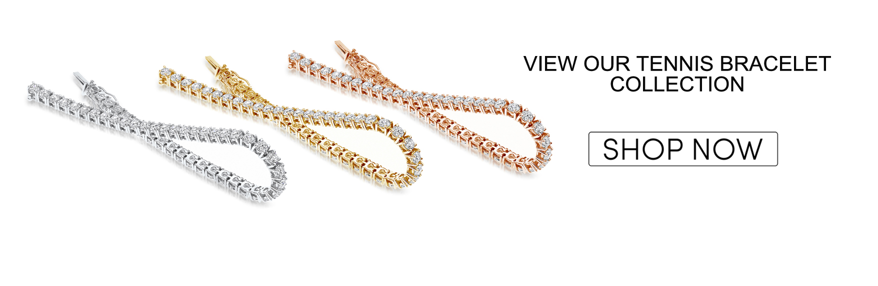 Shop our tennis bracelets